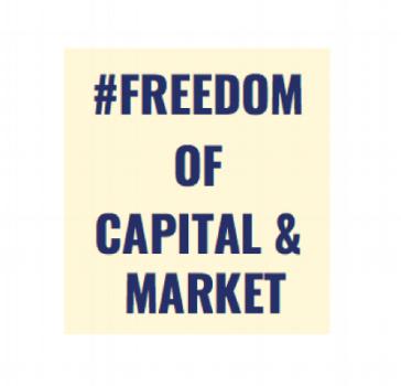 Freedom of capital & market
