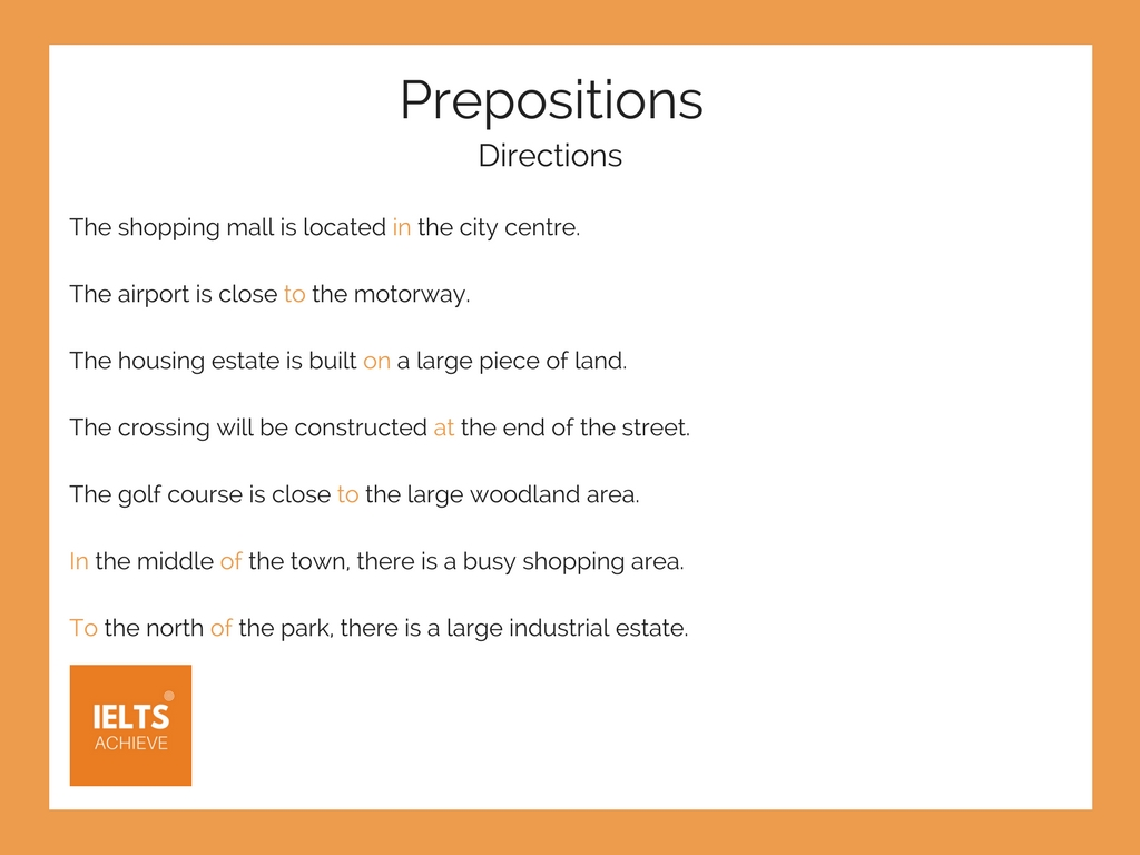 English Grammar prepositions