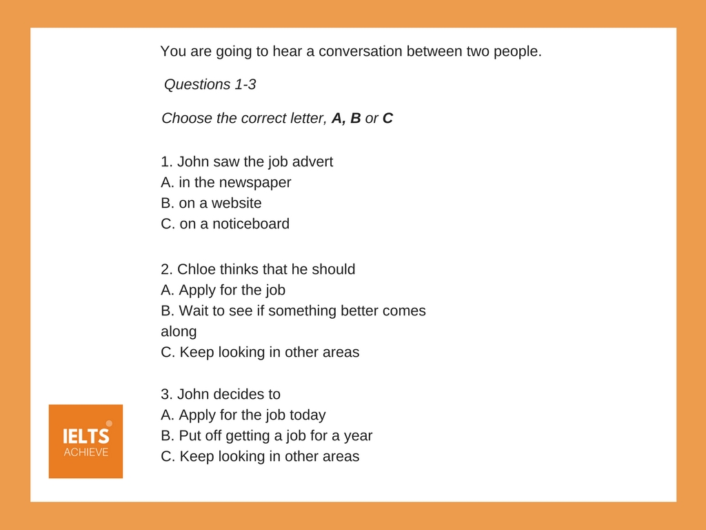 sentence completion multiple choice question example