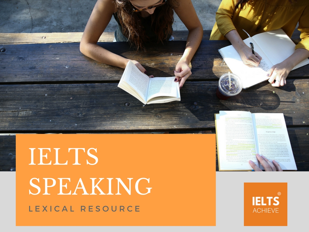 IELTS speaking lexical resource