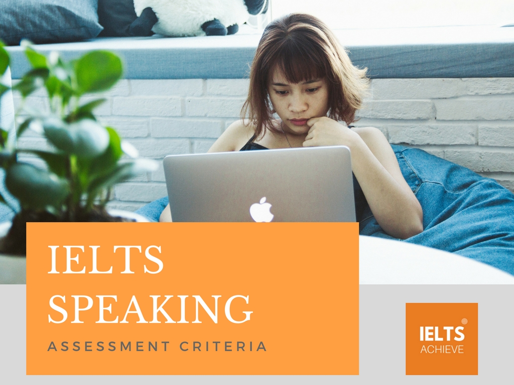 IELTS speaking assessment criteria