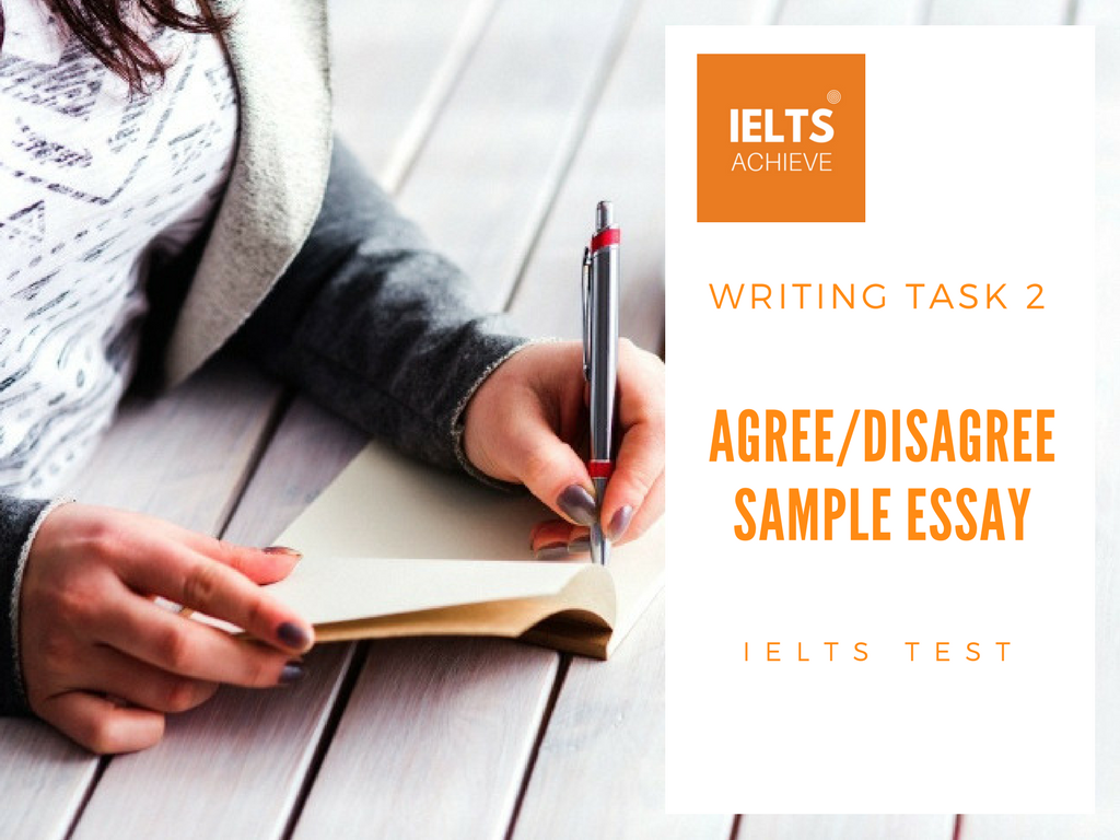 IELTS essay question examples