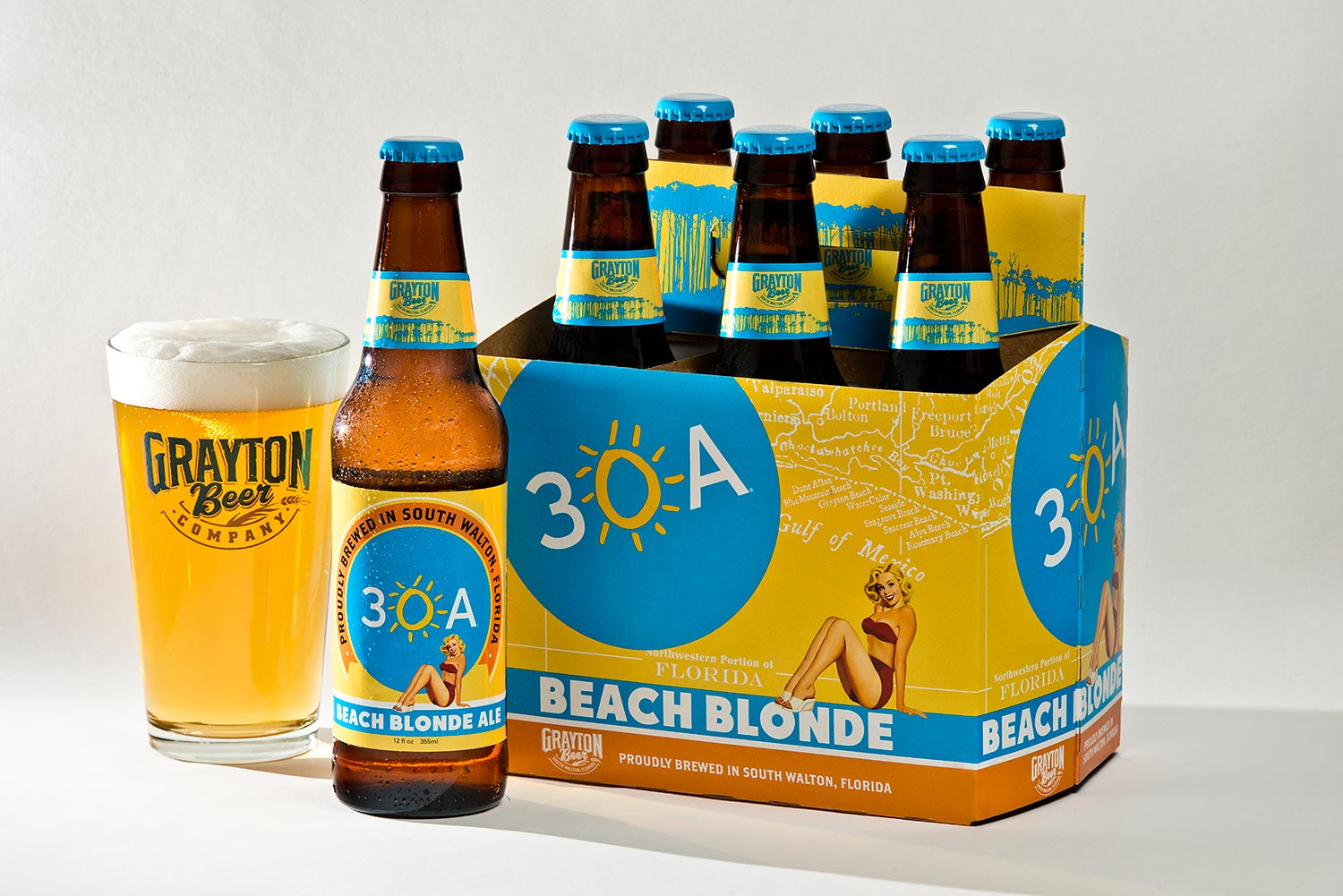Grayton Beer Company 30A Beach Blonde