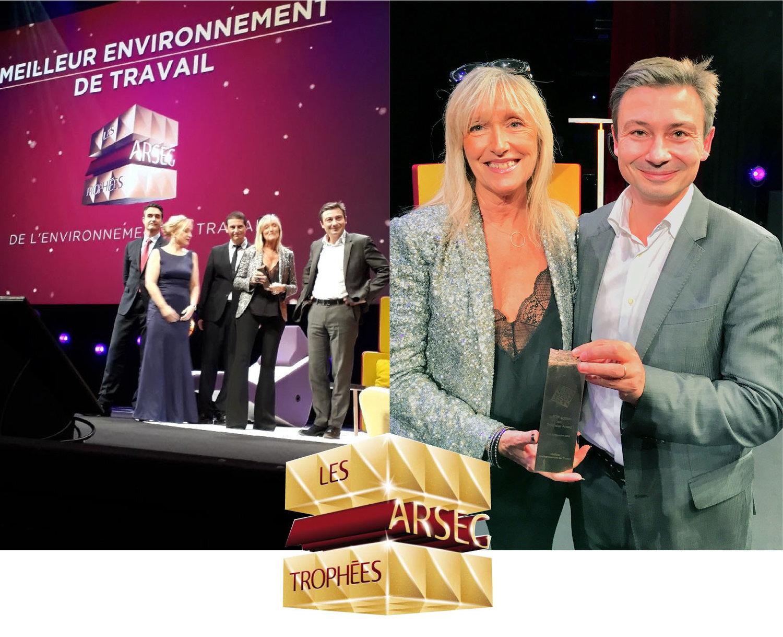 """Majorelle remporte le Trophée de l'Arseg 2018 dans la catégorie """"Meilleur environnement de travail"""""""