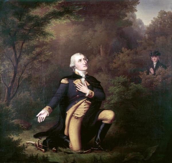 In Prayer At Valley Forge, 1777 - Carl Philipp Weber