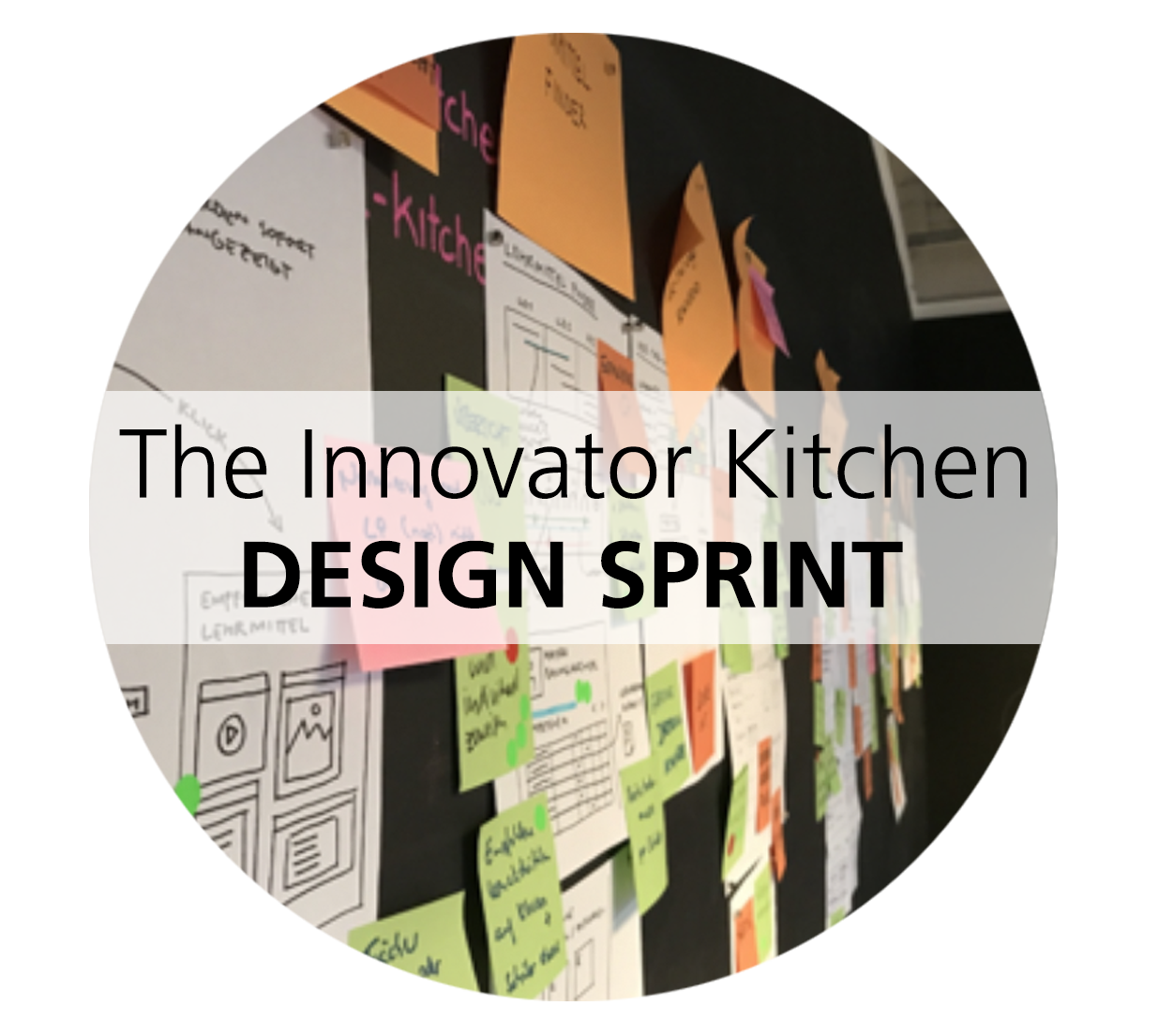 """2019-03-01  The Innovator Kitchen – design sprint   Combine open innovation, design thinking and agile business development in our Amsterdam """"Design Sprint Kitchen"""" and create and validate breakthrough concepts in 1 week. •Rethink and develop business and product concepts together with experts. •Design, prototype and validate with real customer feedback.   Contact us  for tailored sessions, dates or locations Get more info  here"""
