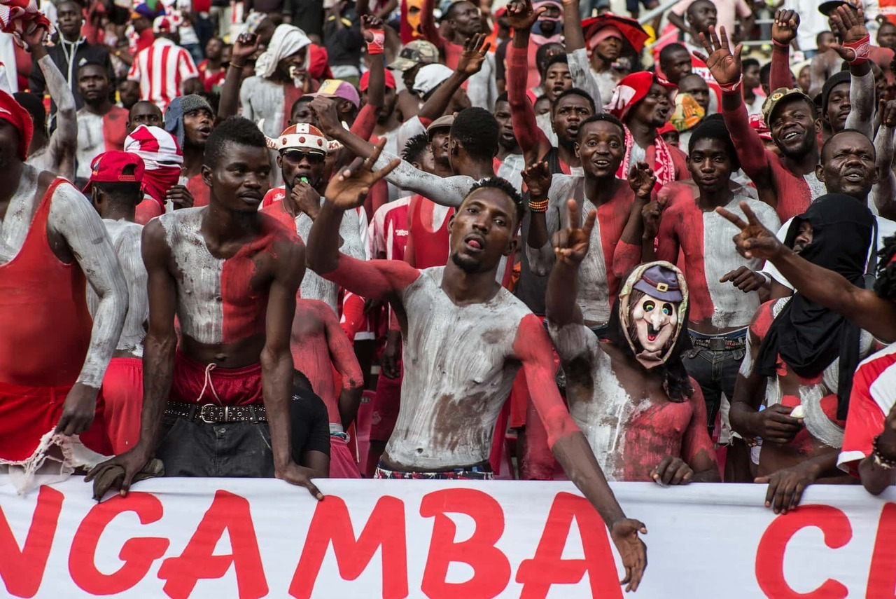 The fire of football fandom burns brightly in Angola.