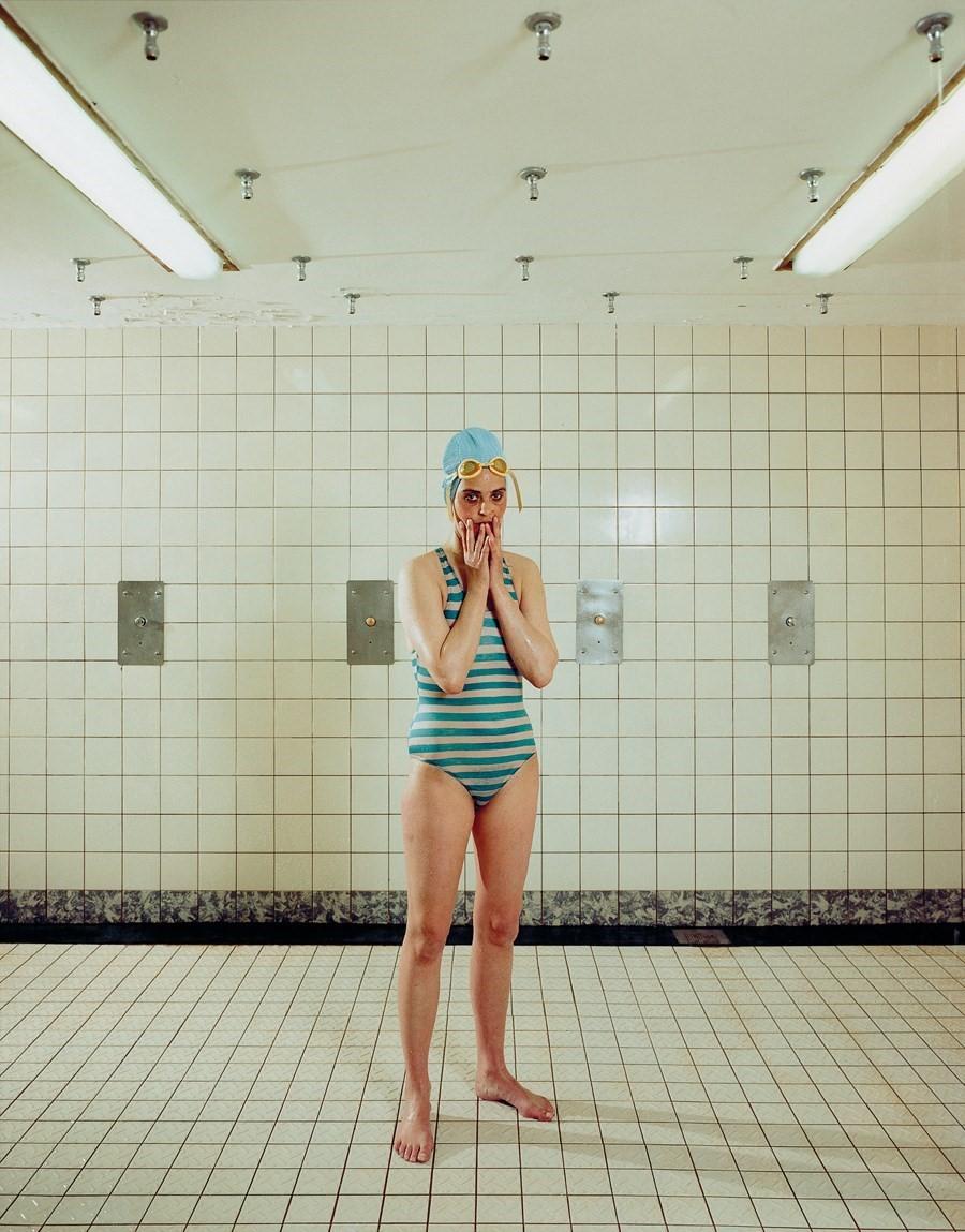 Rineke Dijkstra captures herself.