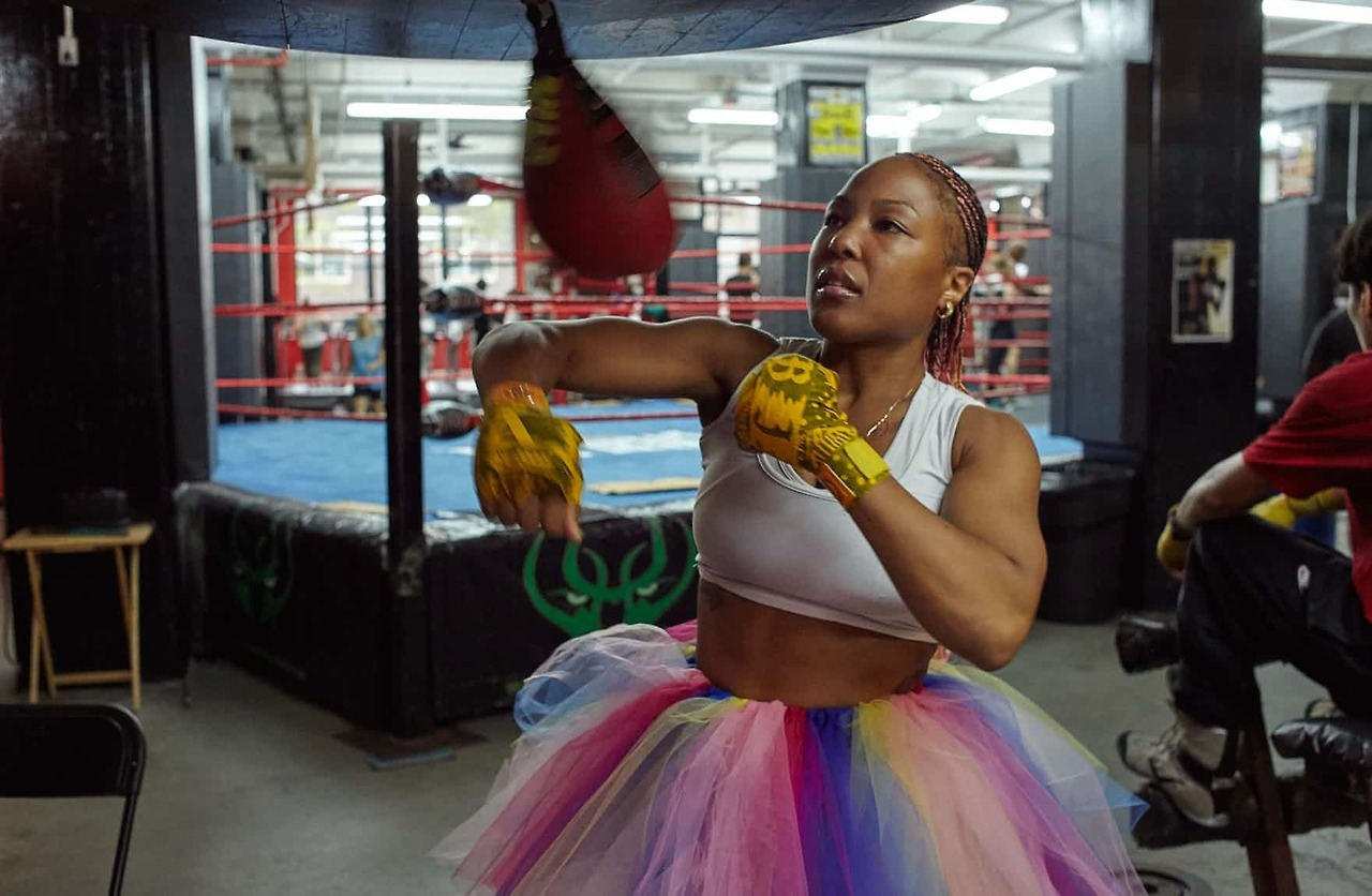 Boxing, clever. Tim Knox's series 'Women Who Box'.