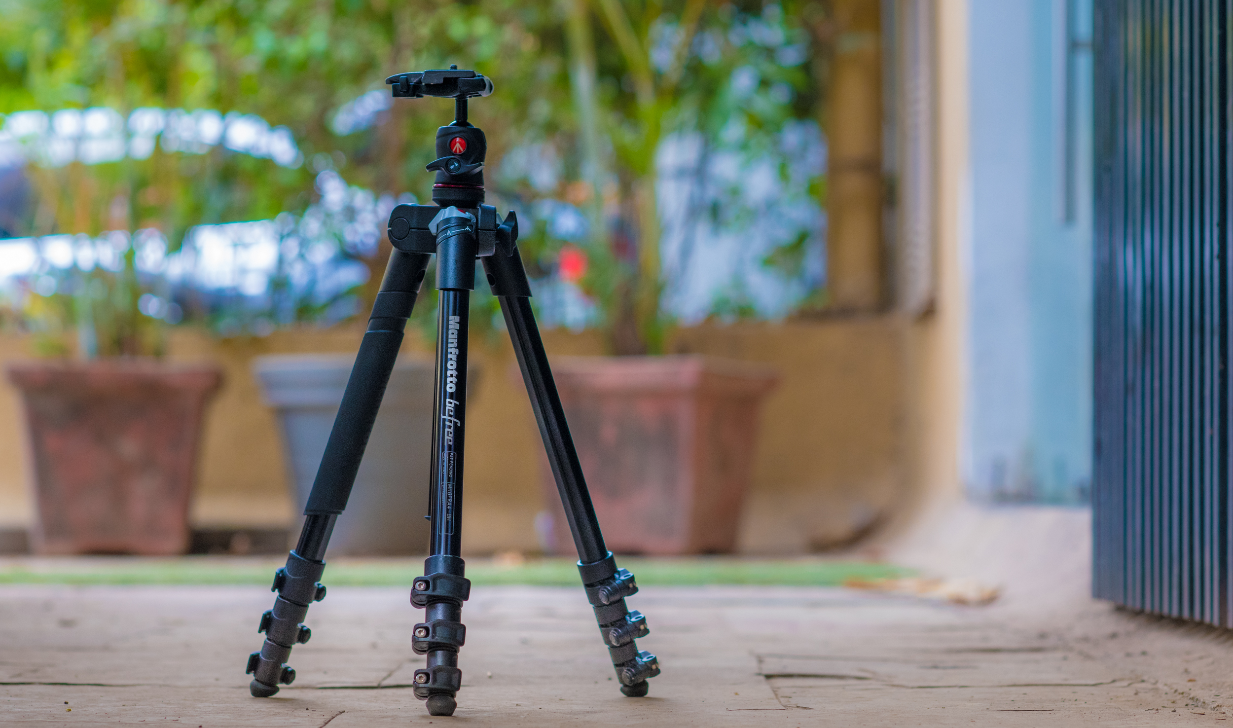 With a tripod, your images will remain level and steady