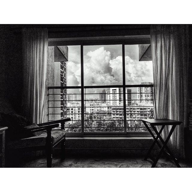 Apartment window. #cityscape #mumbai #everydayindia #urbanphotography #urbanlandscapes