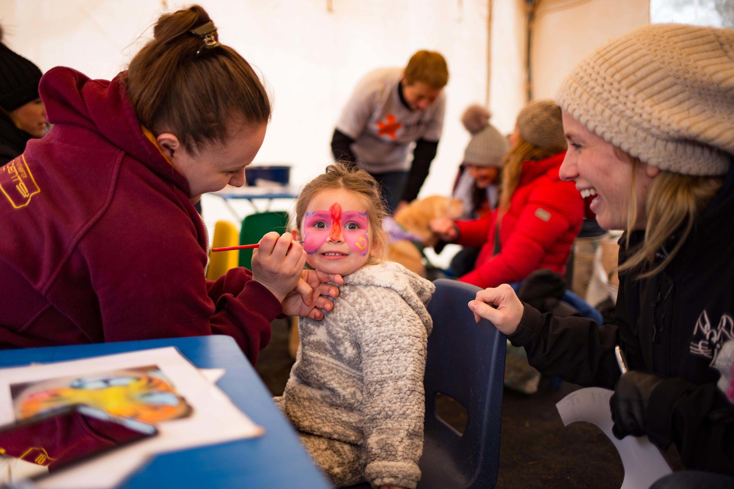 Happy kiddies at Children's Thriplow
