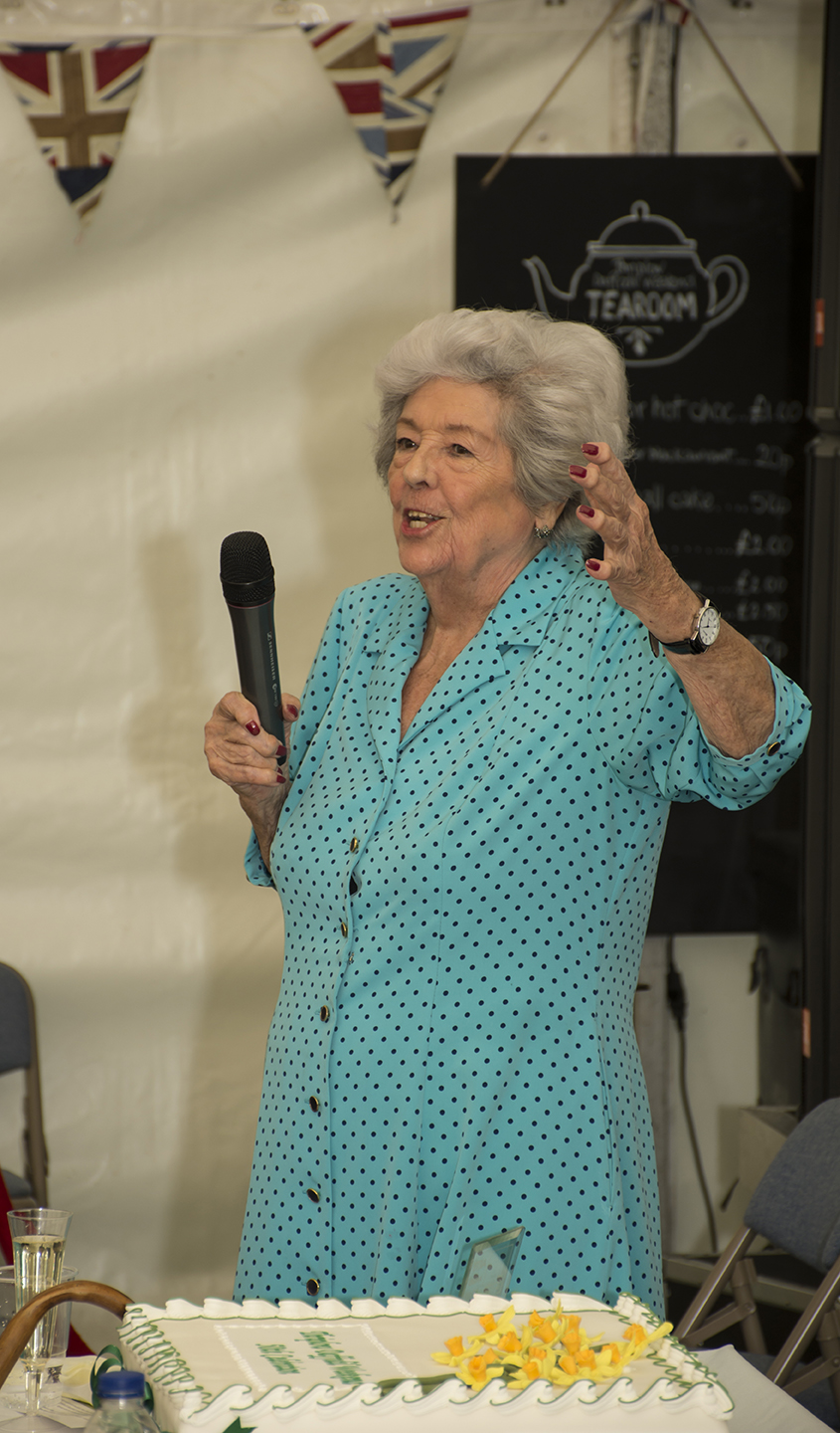 Betty Boothroyd announcing the award winners