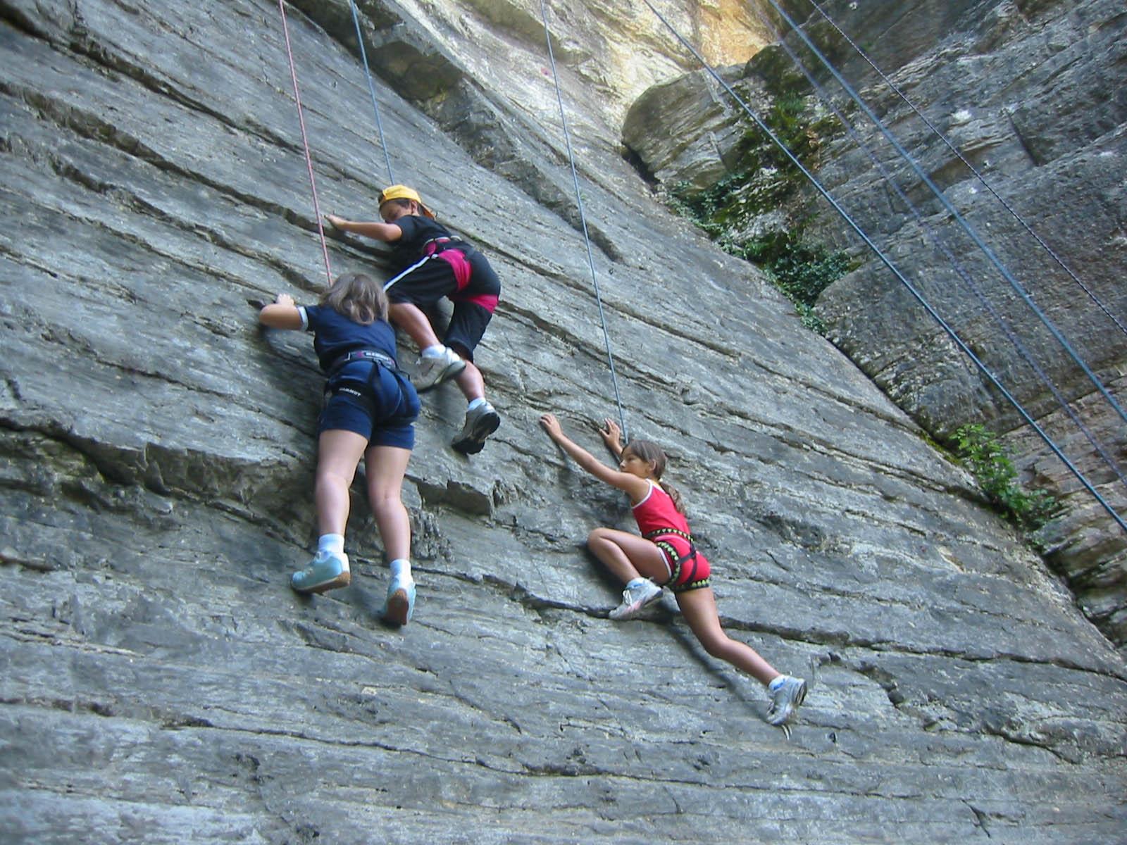 bambini climbing arrampicata