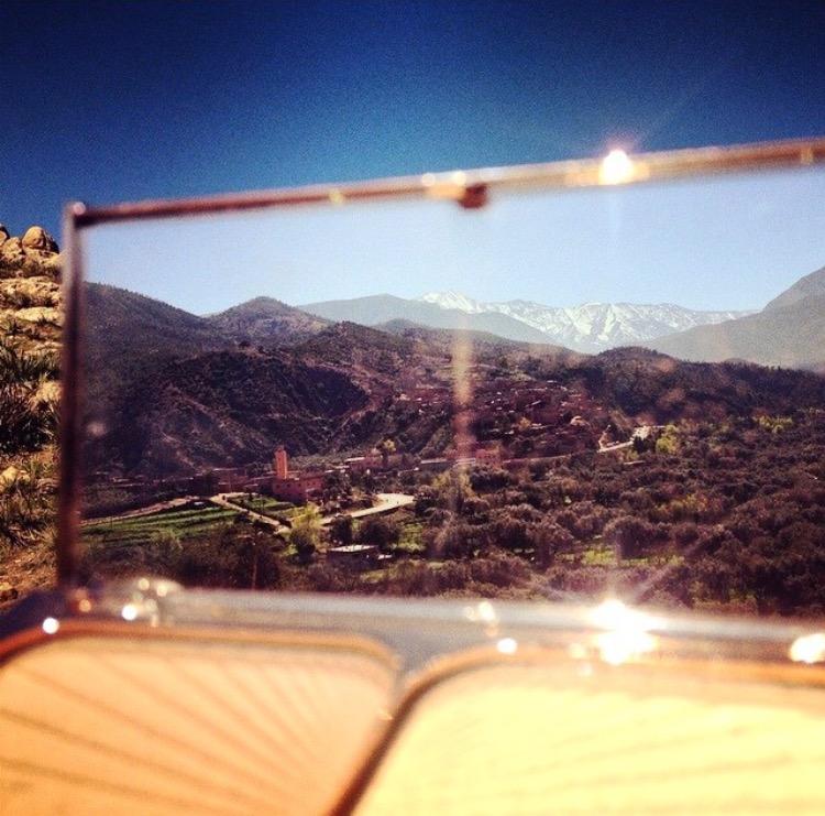 MY TRAVELS WITH FILMSTAR BRONZE & GLOW -ATLAS MOUNTAINS MARRAKECH