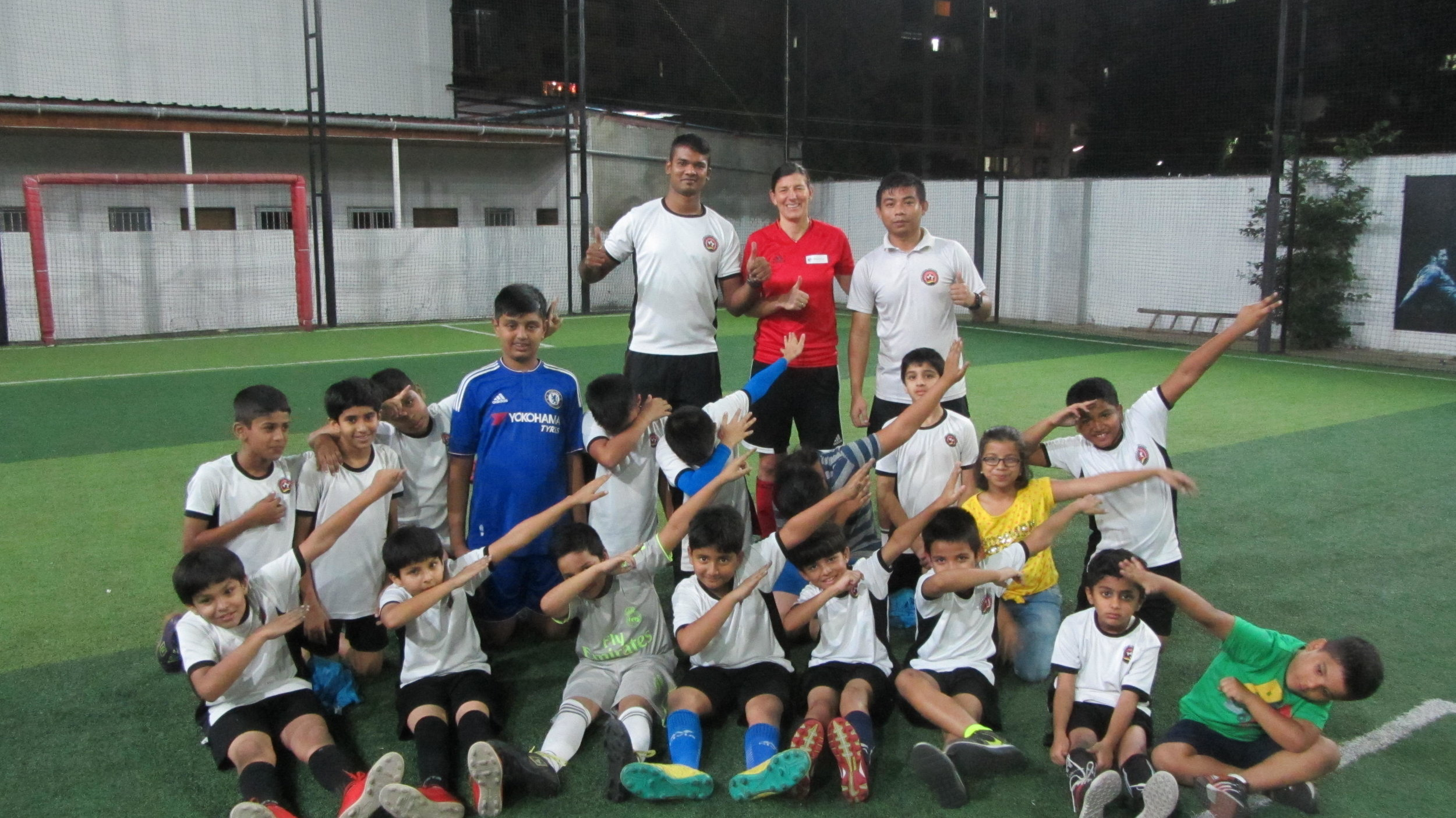 - ViCo Soccer Workshop at GFA in Pune, India