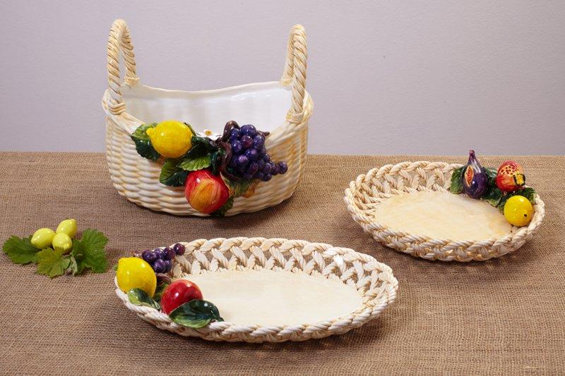 GIOTTO - Owoce i Kwiaty ręcznie wykonany i zdobione