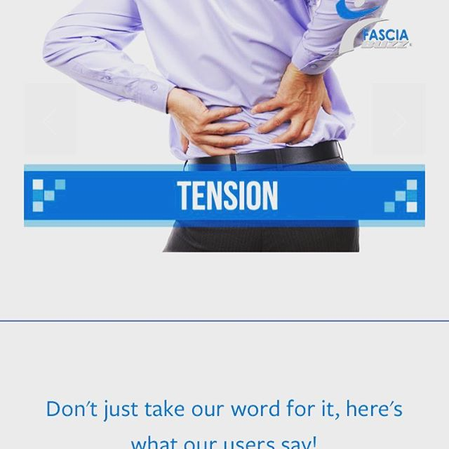 80% of Americans suffer from back pain.  The answer to relief is in the neuromuscular balance and connective tissues.  Fascia Buzz is a drug free approach to addressing tension and tightness.  #lifting #backpain #sore #muscles #fitness #gymlife