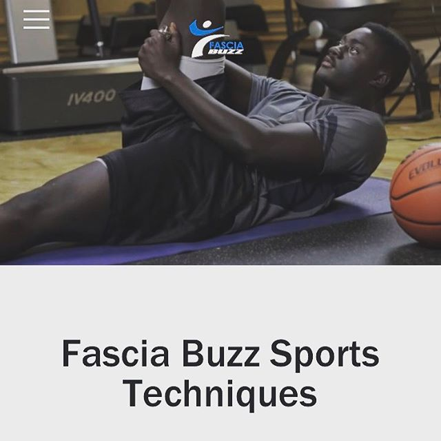 It's the new foam roller.....prepare your body for your sport movement with Fascia Buzz.  #sports #basketball #football #athlete #fitness #gym #crossfit #muscle #stretch #foamroller #yoga