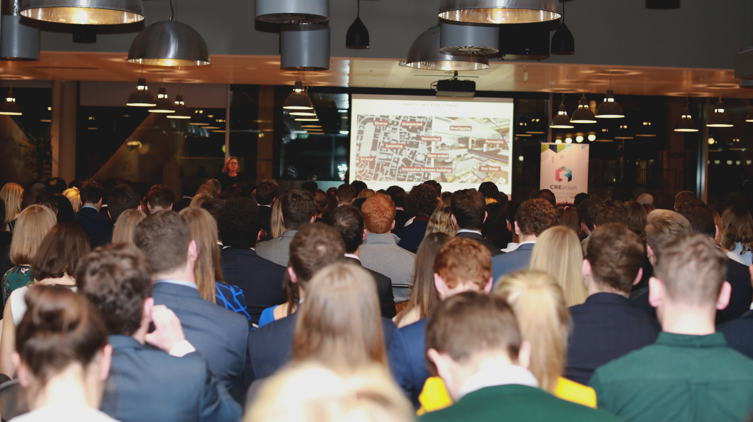 CREation January Launch Event at WeWork Moorgate