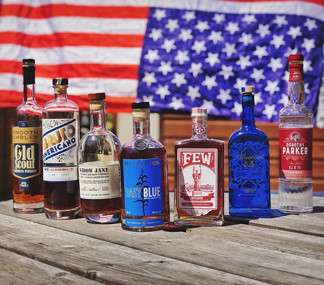 Our founder, @vachontour like many of our craft spirits, was originally made in America so it's a country that's very close to our hearts.  The world of craft spirits is full of passionate, hardworking and talented people who are ready and willing to face any new challenge the modern landscape brings.  This Fourth of July, whether it's #gin #whiskey #bourbon #rye #vodka #liqueur #aperitivo or something else altogether, raise a glass of something craft today and support wonderful independent businesses like the ones in this picture. . . . #drinkcraft #fourthofjuly #4thofjuly #craftspirits #americanmade #americancraft #craftgin #craftwhiskey #supportindependent #indepenceday #redwhiteandblue #drinks #spiritofamerica #maverickdrinks
