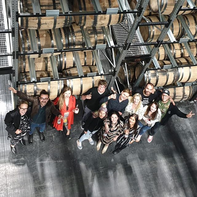 A flyby trip to visit the lovely team at @kyrodistillery for plenty of rye! #ryerye