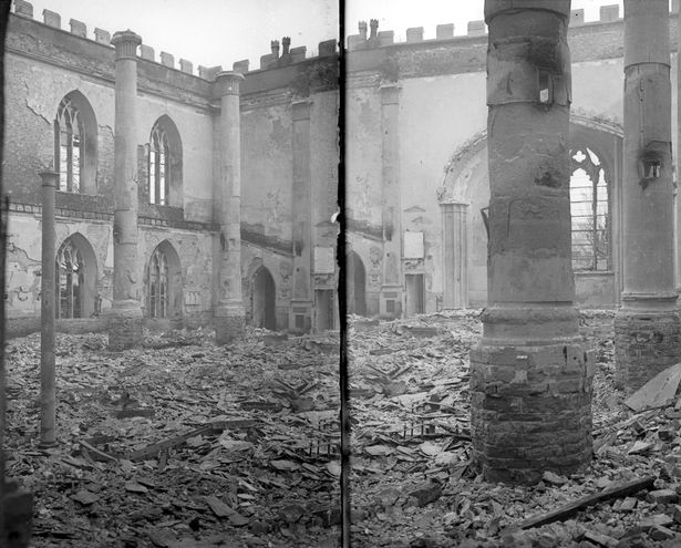 St Peters Church - Bombed out during Blitz