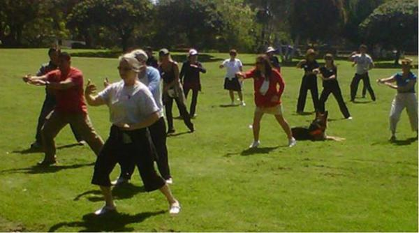 Tai Chi Classes - Tai Chi in the morning--exercise your second chakra after breakfast
