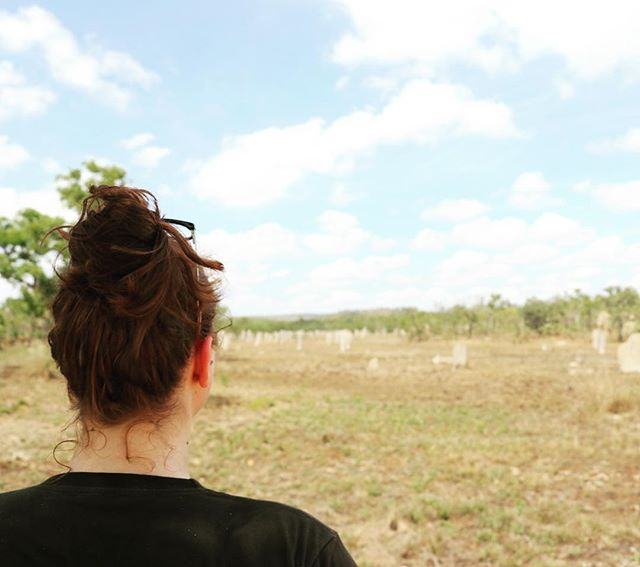 🐜🐜🐜 Litchfield National Parks Magnetic Termite Mounds; standing up to two metres tall and housing up to a million tiny termites! 🐜🐜🐜 . . . . #ntdaytours #litchfieldswimmingadventures #dothent #magnetictermitemounds #litchfieldnationalpark #northernterritory #darwintour #cheapholiday #budgettour #backpackertour #familytour #darwin #vacationinspiration