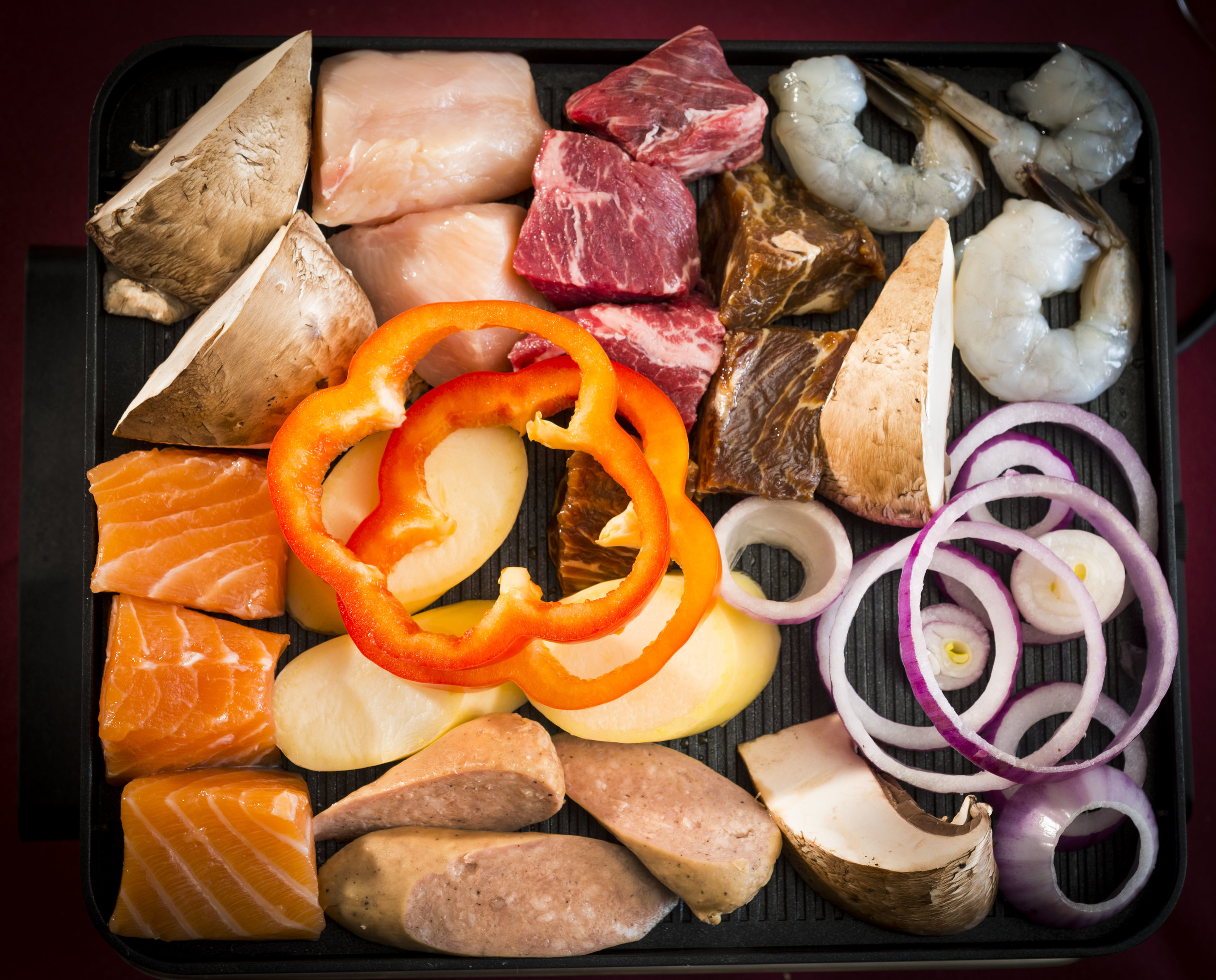 Grilling Meats, Seafood and Vegetables