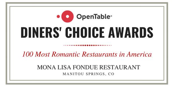 Mona Lisa Fondue Restaurant Top 100 Most Romantic Restaurants in USA