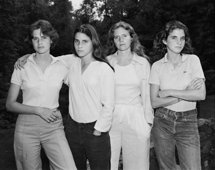 The Brown Sisters: Portraits of four sisters every year for 40 years