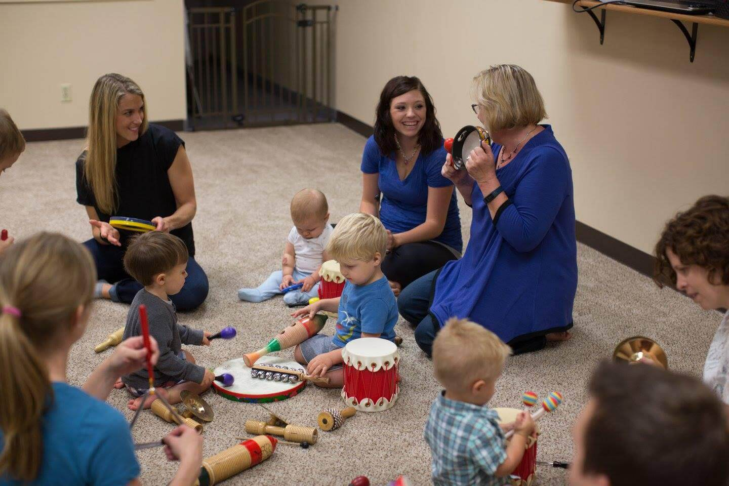 The Music Class (Parent/Child)   Learn More