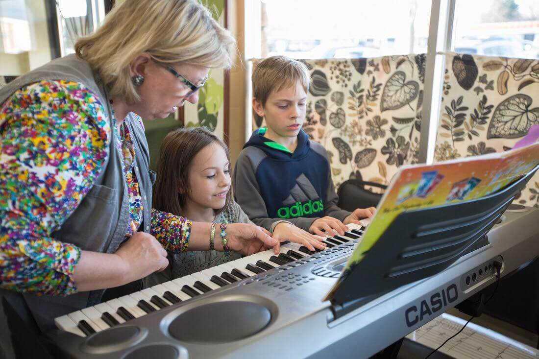 Kids at the Keys/Guitar   Learn More