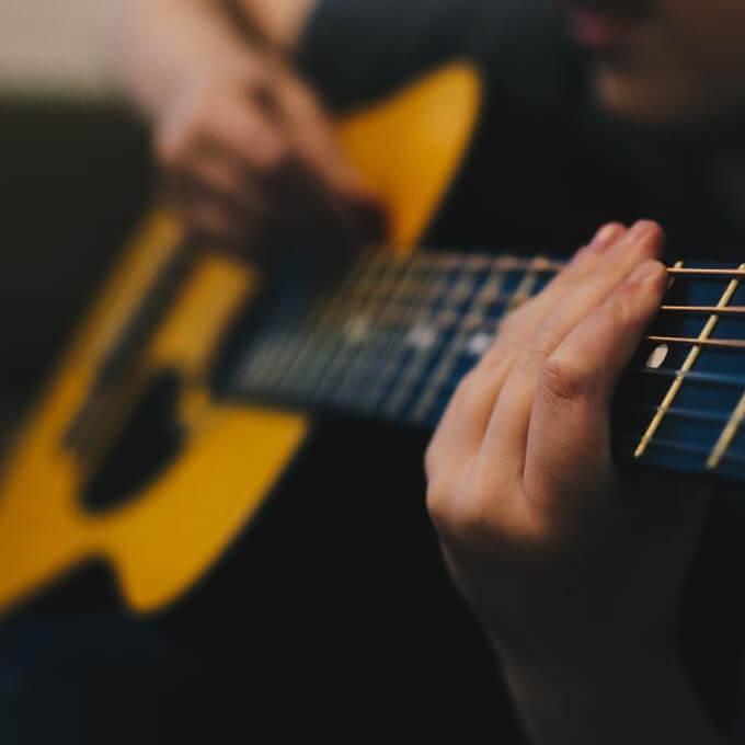 Teens at the Keys/Guitar -