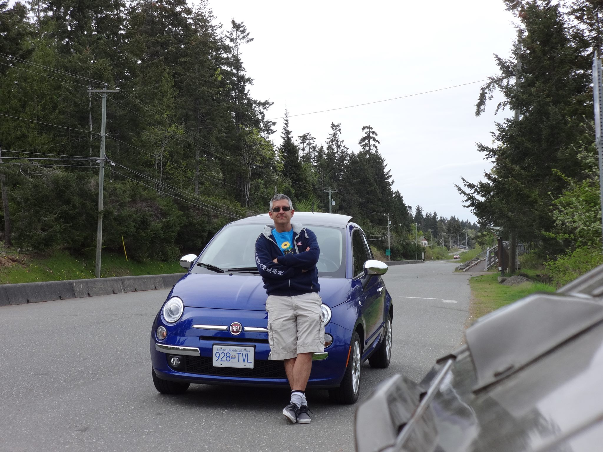 I am slightly taller than this Fiat 500