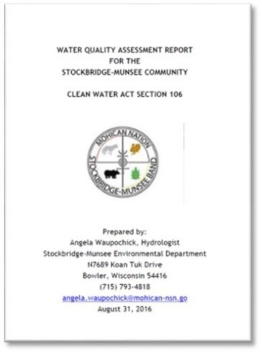 WATER QUALITY ASSESSMENT REPORT