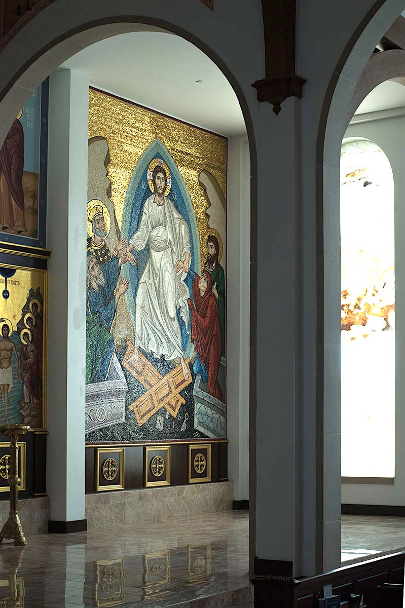 The Resurrection, St George's Orthodox Church, Houston, Texas