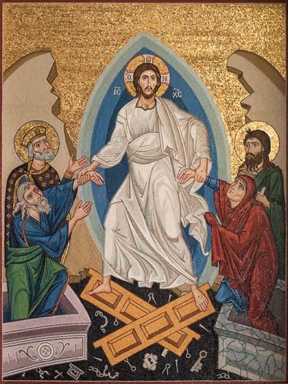 Resurrection mosaic, Houston, Texas (1)