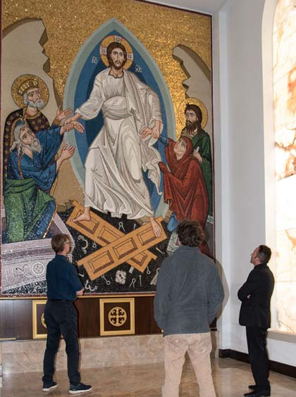 Resurrection mosaic