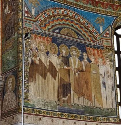 The Privilegia panel, north wall