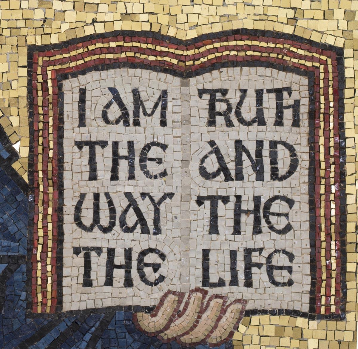 The Word, Christ Pantocrator Mosaic, St George's, Houston, Texas