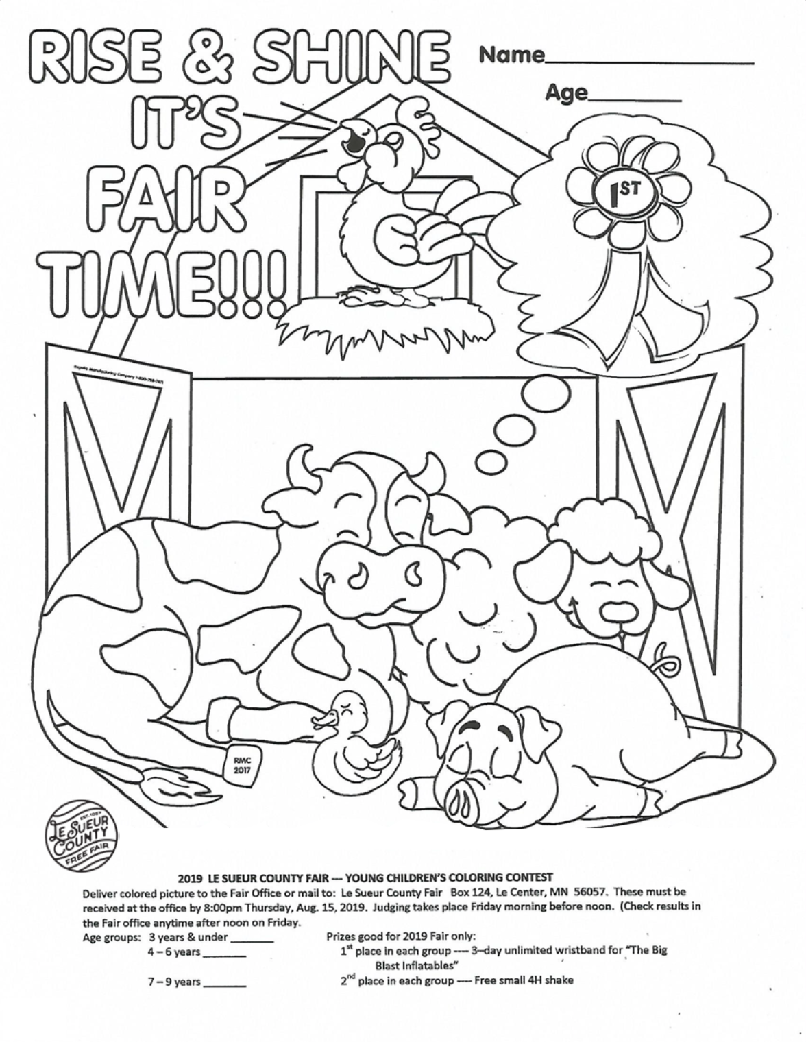 DOWNLOAD COLORING CONTEST PAGE