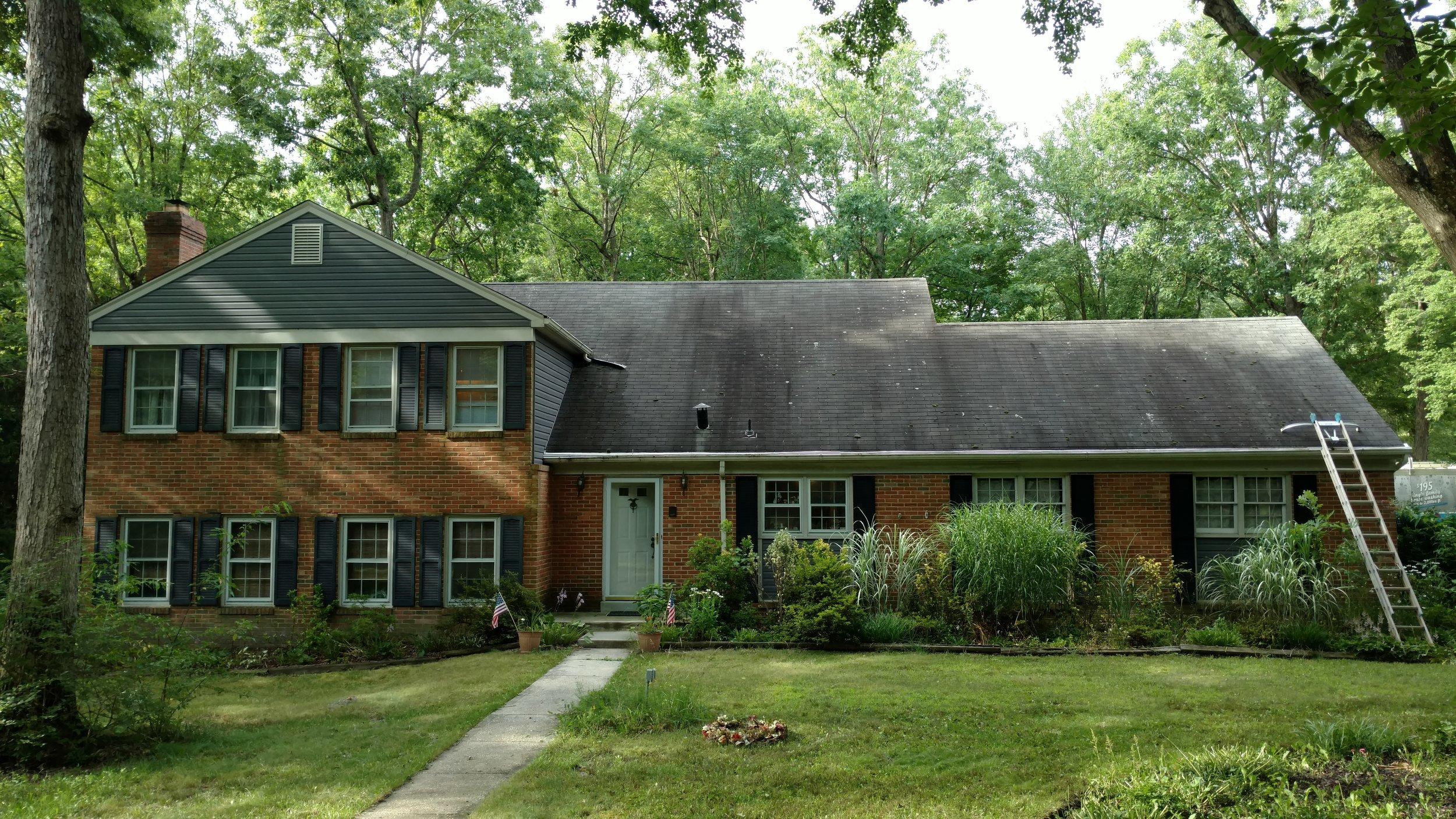Roof Black Streak Removal Maryland | Virginia