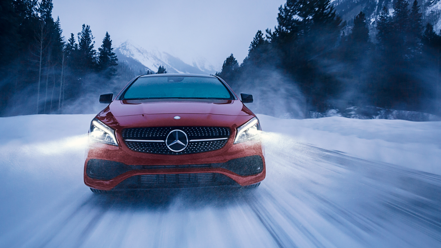 MERCEDES-BENZ WINTER DRIVE