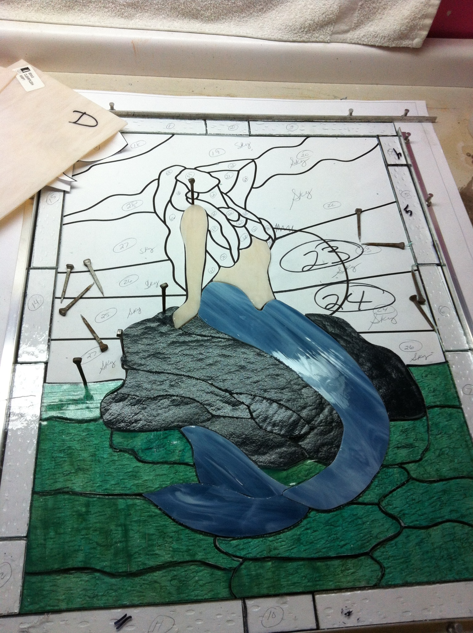 Mermaid in process.jpeg