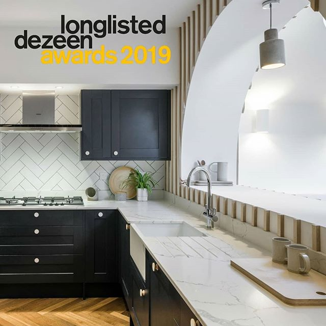 Delighted to have made the longlist for The 2019 Dezeen Awards for their House Interior catagory. Some fantastic work in the catagory so 🤞 📸 @gardnergareth . .  #dezeenawards2019 #dezeen @dezeen #houseinterior @liamlondon26