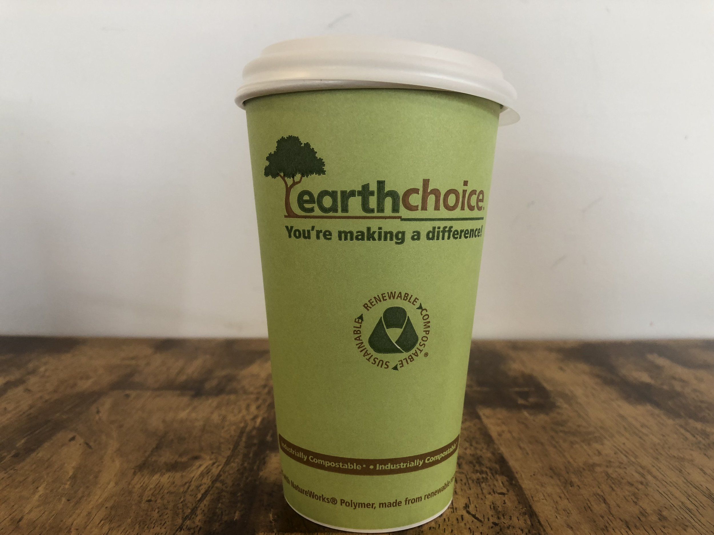 Read the small print  Industrially Compostable