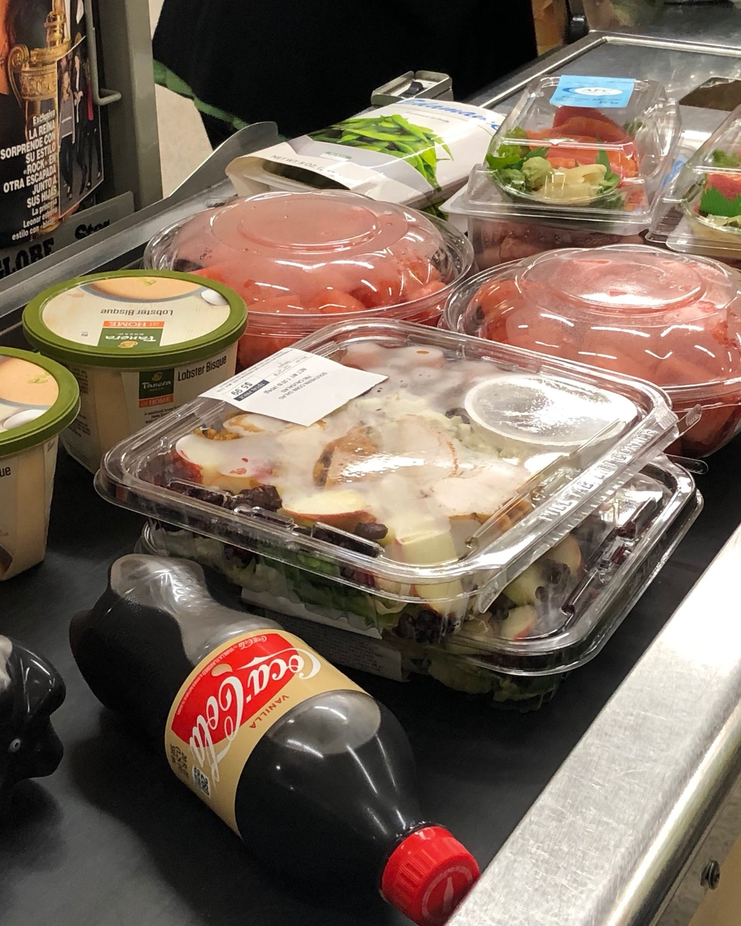 "So many of our groceries are increasingly packaged ""ready to eat"" in plastic."