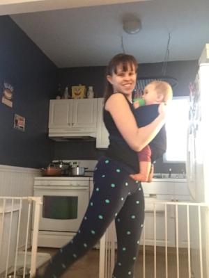 Baby wearing